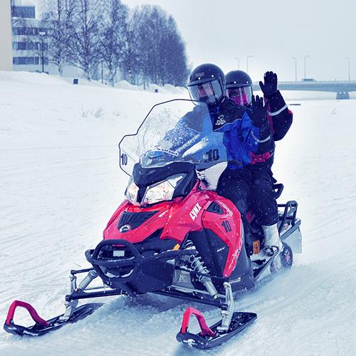 スキー場パトロール