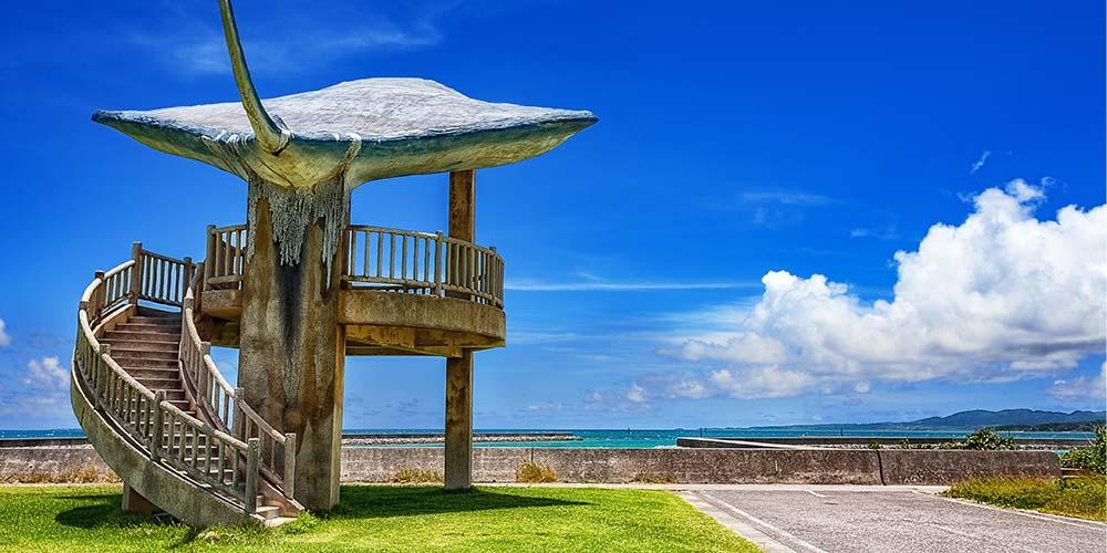 小浜島の展望台